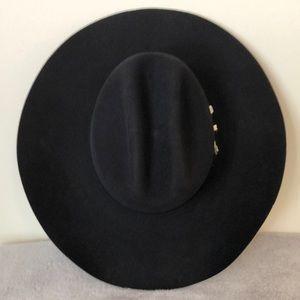 Stetson Stallion black wool hat size 7/56